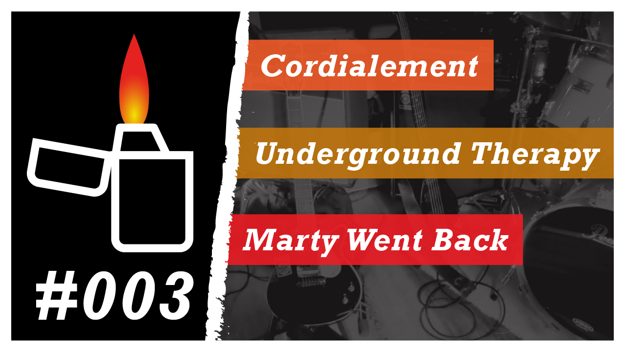Émission Brikérock n°3 - Cordialement, Underground Therapy, Marty Went Back