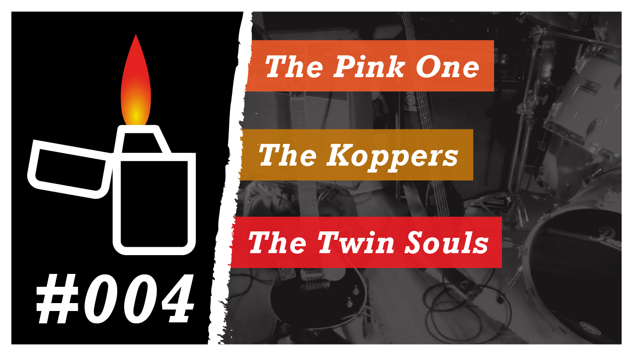 Émission Brikérock n°4 - The Pink One, The Koppers, The Twin Souls
