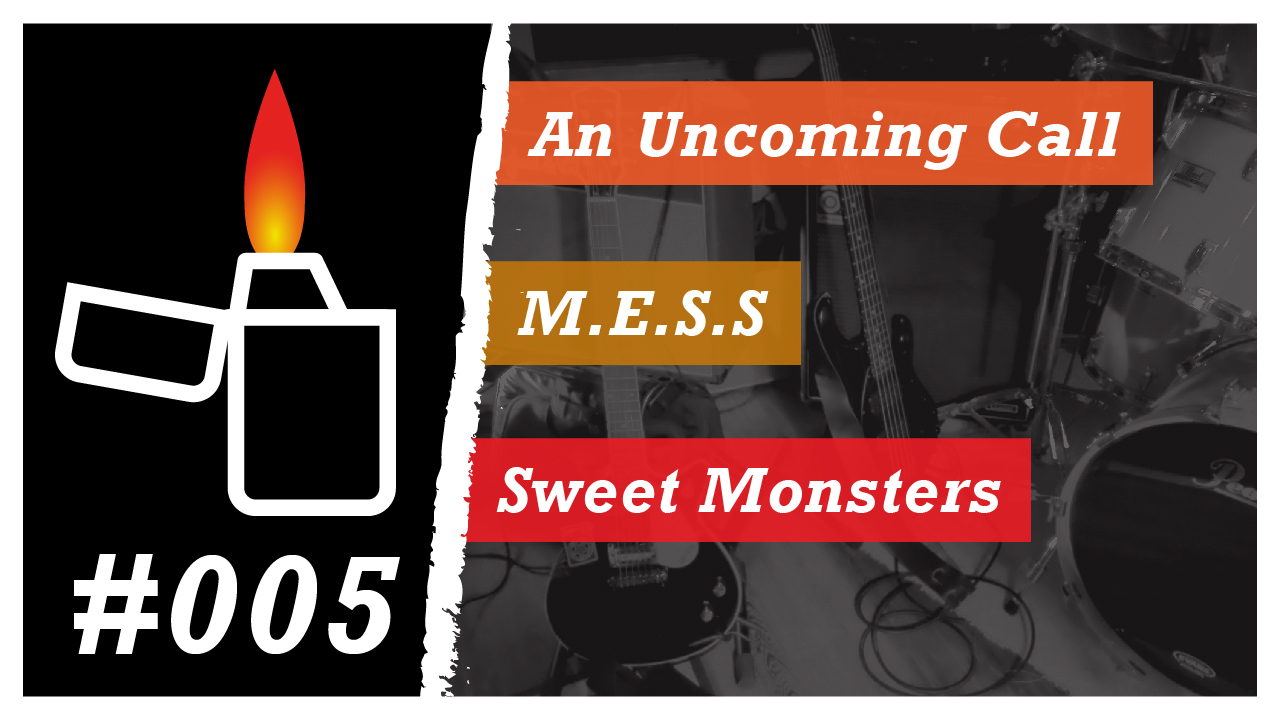 Émission Brikérock n°5 - An Uncoming Call, M.E.S.S, Sweet Monsters