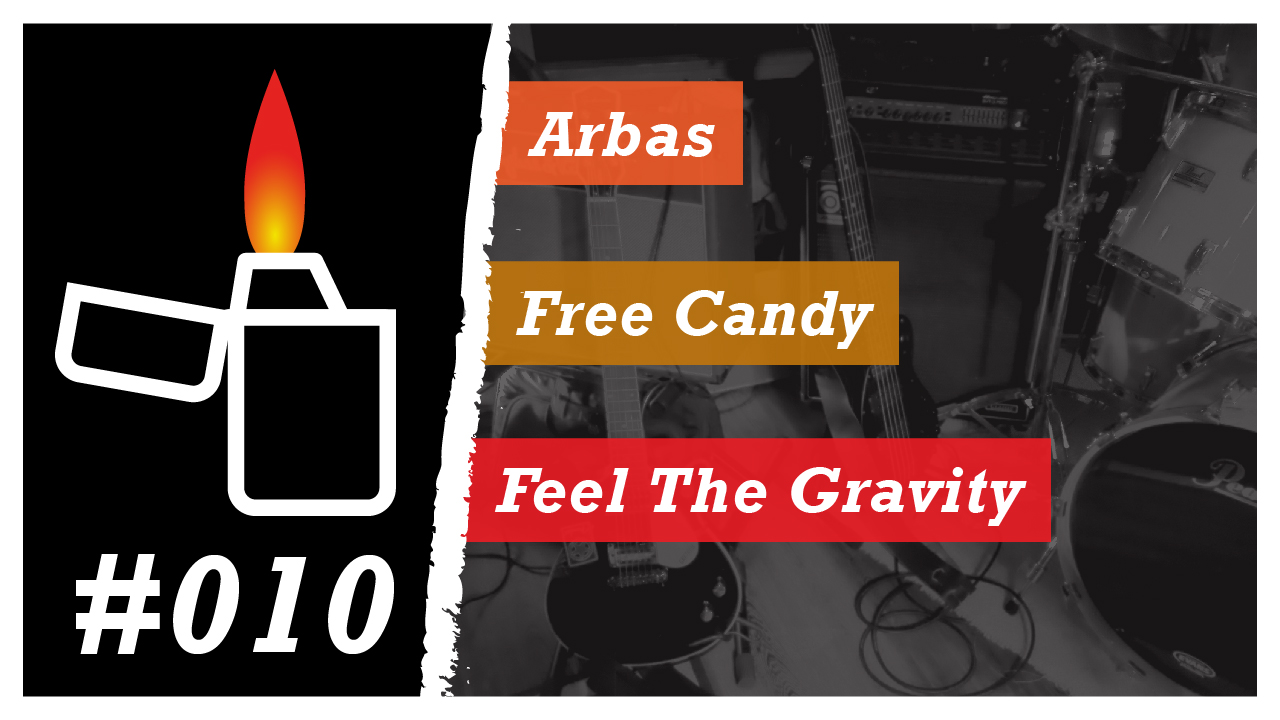 Émission Brikérock n°10 - Arbas, Free Candy, Feel The Gravity